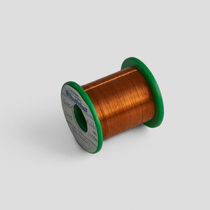 Silver insulated wire
