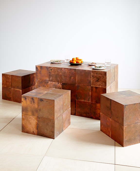 Copper Cubes